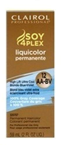 Clairol Professional 12AA-BV/HL-B High Lift Ultra Cool Blonde Blue, 2 oz (Pack of 7)