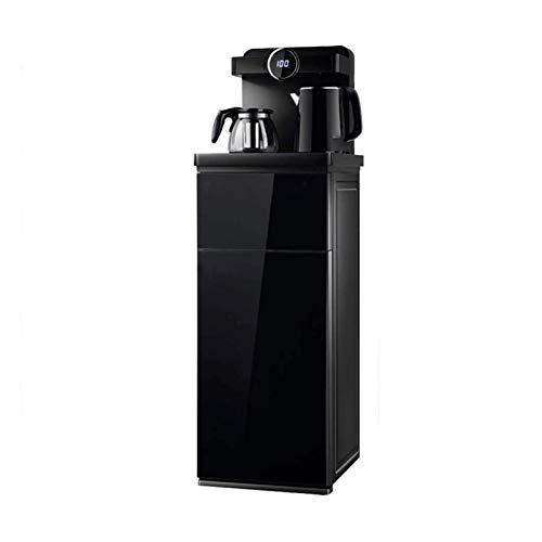 Sdesign Hogar Anti-Scald Control Control Remoto Inteligente Dispensador de Agua Piso Cargando Caldera de Agua embotellada Caliente y frío (Color : Black, Size : Hot and Cold Water)