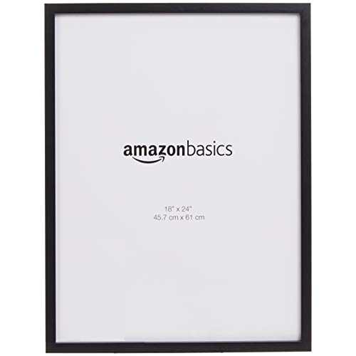 AmazonBasics – Bilderrahmen, 45,7 x 61 cm, 2 Stück, schwarz