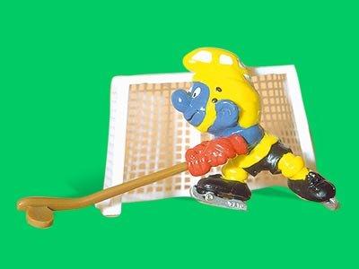 40505 Superschlumpf Eishockeyspieler Schleich