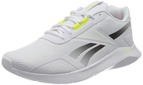 Reebok Męskie buty do biegania ENERGYLUX 2.0, FTWR białe/Core czarny/żółty rozklosz, 10 UK