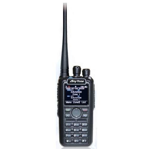 Anytone AT-D878UV Plus V2.2 Dualband DMR/FM Funkgerät mit Bluetooth + GPS - 3100mAh Akku