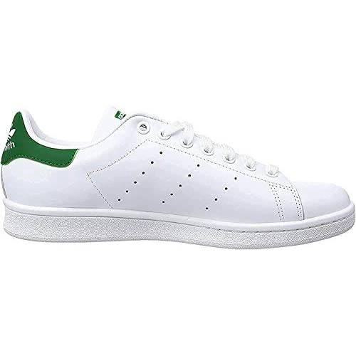 adidas STAN SMITH, Sneakers Unisex - Adulto, Bianco (Running White Ftw/Running White/Fairway), 38 2/3 EU