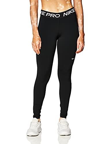 Nike Women's W Np 365 Tight, Black/White, S