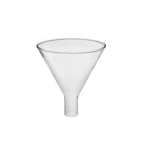 Corning Pyrex Borosilicate Glass Powder Funnel, 150mm Top I.D (Case of 12)