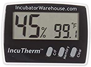 IncuTherm Digital Thermometer Hygrometer with Min/Max Memory