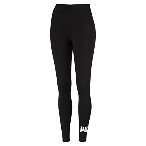 PUMA Damen ESS Logo Leggings Hose, Cotton Black, S