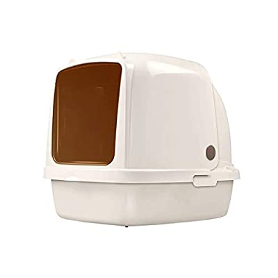 Bdesign Creative Litter Tray Large Cat Litter Tray/cat Litter Box Toilet Box ? Extral Large Litter Tray Large Enclosed Pet Litterbox (Size : Large)