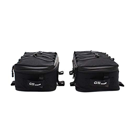 For R1200GS R1250GS Motorcycle Luggage Bags For GS 1200 LC 2013-2017 R1250GS Top pack Motorcycle rear luggage tool box motorcycle motorbike box (Color : Right and Left)