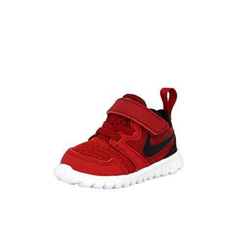 Nike Nike Jungen Flex Experience 3 (TDV) Sneaker, Rot/Schwarz/Weiß (Gym Red Black White), 17 EU