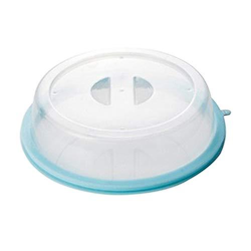 TOPBATHY Cubierta de Comida Apta para microondas Apilable, contra Salpicaduras, Tapa, Tapa, Aceite de calefacción, Platos de Cocina, Cubierta de Sellado de tazón Fresco para refrigerador, microondas