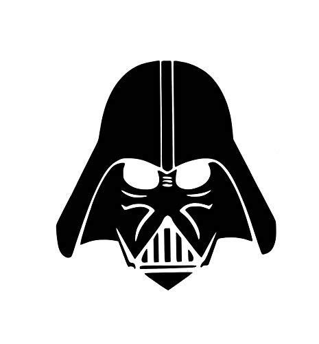 Lplpol Premium Anti-Staub Vinyl Aufkleber Darth Vader Auto Aufkleber Darth Vader Fenster Aufkleber Darth Vader Aufkleber Darth Vader Aufkleber Darth Vader Sticker Darth Vader Computer Laptop Aufkleber Geschenk 15,2 cm