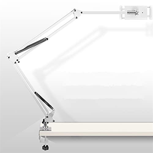 TYTG Accesorios para Laptop Soporte de Soporte de Soporte de Brazo de Tableta, Brazo Ajustable de rotación de 360 ° 4-13 '' tabletas Accesorios de computador (Color : 110 cm White)