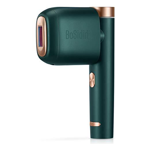 BoSidin IPL Haarentfernungsgerät, Dauerhafte Haarentfernung für Frauen und Männer - Körper und Gesicht(grün)