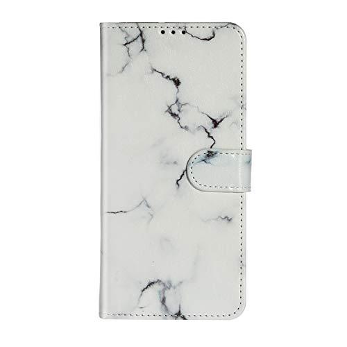 Lomogo Galaxy A71 Hülle Leder, Schutzhülle Brieftasche mit Kartenfach Klappbar Magnetisch Stoßfest Handyhülle Case für Samsung Galaxy A71 - LOYHU020395 L1