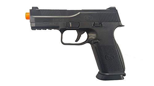 FN Herstal FNS-9 Spring Powered Airsoft Pistol, Black, 300 FPS