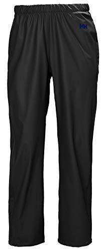 Helly Hansen Moss Rain Pants Pantalones Impermeables, Mujer, Negro, M