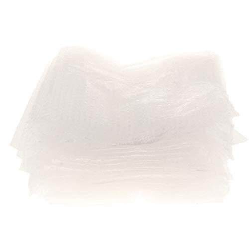 50er Pack Luftblasenbeutel aus Blisterfolie Plastikbeutel Essenspakete Verpackungsbeutel - Klar 20x30cm