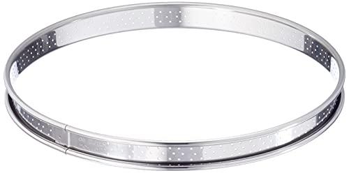 DE BUYER -3093.22 -cercle a tarte inox perfore ht2 ø22 cm