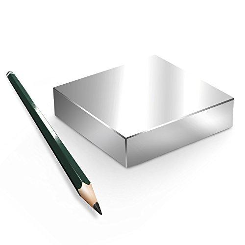Neodym Magnet Magnete Quader groß ab 30mm von 18KG bis ca. 1000KG Zugkraft N45 N52 vernickelt NdFeB, Quader:80x40x10mm N52 200KG (1St.)