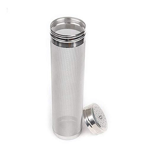 JOKBEN Beer Dry Hopper Filter,Merrday Stainless Steel Hop Strainer Micron Mesh Beer Filter Cartridge (2.8 X 11.8 inch)