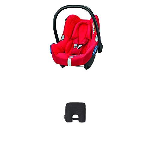 Bébé Confort Cabriofix Seggiolino Auto 0-13 kg, Ovetto Gruppo 0 +, 0-12 Mesi, Vivid Red, con Dispositivo Antiabbandono