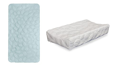 Nook Pebble Air Crib Mattress with ChangePad...