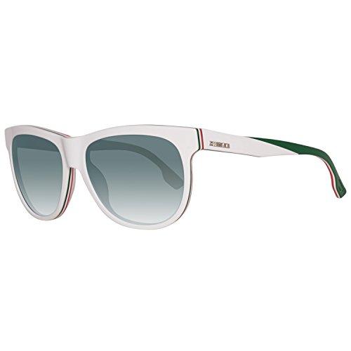 Diesel Sonnenbrille DL0112 5624Q Gafas de sol, Blanco (Weiß), 56 Unisex Adulto