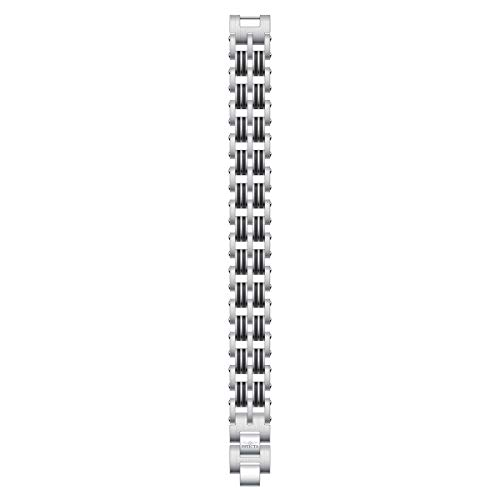 Invicta 30340 Men's Elements Silver Tone and Grey Bracelet