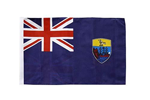 FlagSuperstore© Saint Helena Bootsflagge, 45,7 x 30,5 cm – Baumhäuser, Wohnwagen – Ärmel 45 cm x 30 cm – Country
