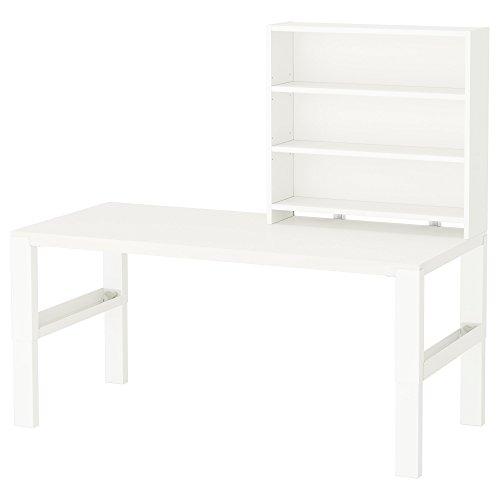 ZigZag Trading Ltd IKEA Pahl–Escritorio con estantería de Color Blanco