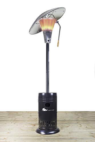 Sahara 13kw Heat Focus Charcoal Gas Outdoor Patio Heater