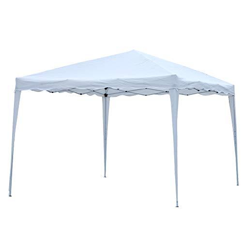 Zerone Gazebo cubierta superior, impermeable plegable Gazebo Canopy al aire libre patio pabellón refugio carpa carpa carpa carpa