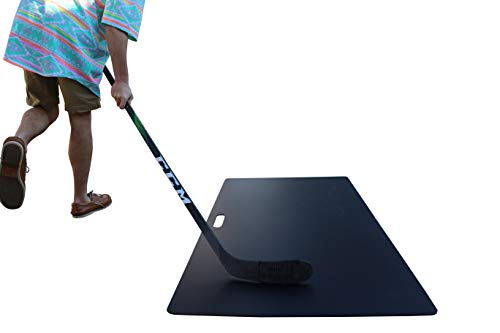Mint Hockey Shooting Pad, Recycled Plastic, Made in MN (Black, 30