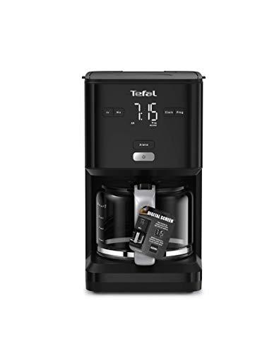 TEFAL SMART'N LIGHT cafetière électrique noire 1,25 L Programmable...