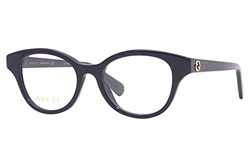 Gucci GG 0924O 004 - Gafas redondas (plástico, 49 mm), color azul