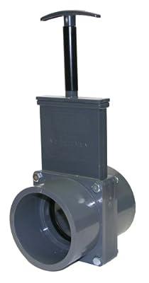Valterra 8301X PVC Gate Valve, 90 mm Slip w/ Gate Keeper, PVC from Valterra Products