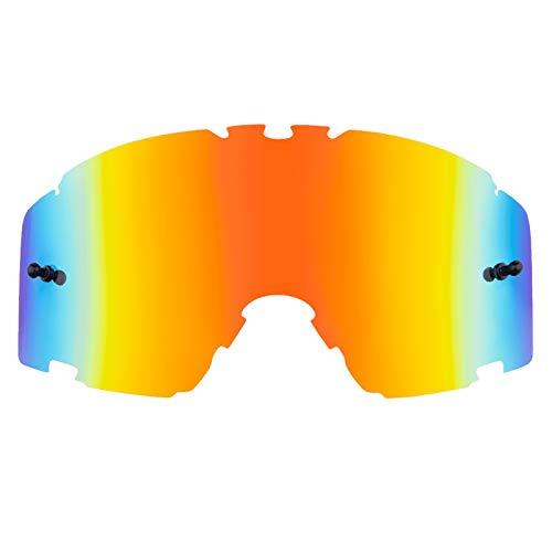 O\'NEAL | Motocross-Brillen-Ersatzteile | Motorrad Enduro | Linse für maximale Lichtdurchlässigkeit, 100{7d4a40b24800dc68f367d5272e15dc040919b78e6f1bfa2d4054e4bcdcb04cb3} UV Schutz, garantiert beschlagfreie Sicht | B-30 Goggle Spare Lens | Radium Rot | One Size