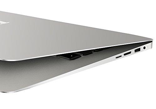 EZBook - Ordenador portátil Jumper 2Ultrabook, conlicencia de Windows 10, de 14,1pulgadas, con pantalla FHD, CPU Intel Cherry Trail Z8300, 4GB de RAM, 10.000mAh