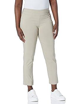 Ruby Rd Women s Petite Pull-On Solar Millennium Super Stretch Pant Chino 14 Petite