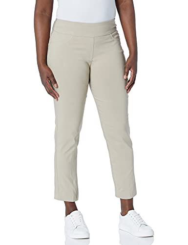 Ruby Rd. Women's Plus-Size Plus Pull-On Solar Millennium Super Stretch Pant, Chino, 18W