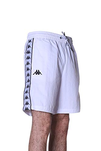 Kappa Badeshorts Authentic BUORG Weiß XL
