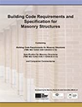 530/530.1-13 Building Code Requirements and Specification for Masonry Structures and Companion Commentaries
