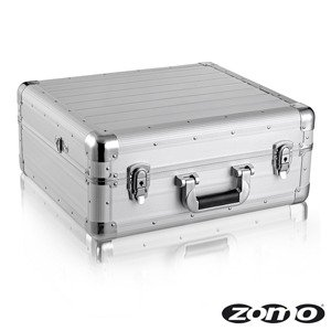 ZOMO CDJ13 XT - Maleta de transporte para mesa de mezclas, color plateado
