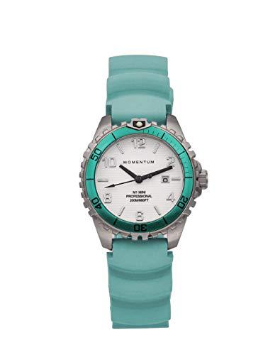 Mini Sapphire vida listo buceo reloj por impulso relojes | Aqua | 1m-dv07wsa1a | de la mujer 200M (660ft) resistente al agua reloj de buceo de 316L acero inoxidable Dial luminoso