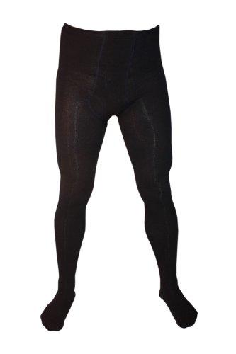 Weri Spezials Herrenstrumpfhose mit Eingrif Glatt in Marine Gr. 58-60
