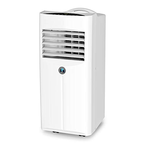 JHS 10,000 BTU Portable Air Conditioner, 3-in-1 Floor AC Unit with 2 Fan Speeds,...