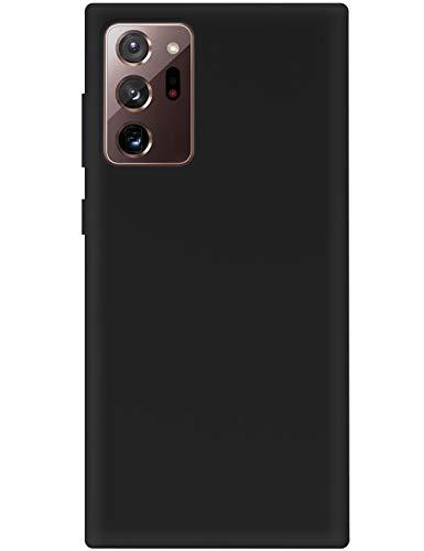 2Buyshop Funda para Samsung Galaxy Note 20 Ultra 5G de silicona líquida suave TPU Case ultra fina original caja 360 antigolpes carcasa para Galaxy Note 20 Ultra 5G