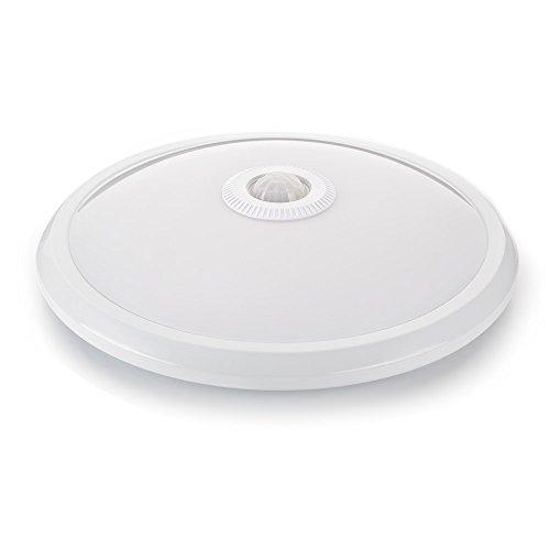 sweet-led Deckenleuchten mit sensor Weiß mit Bewegungsmelder, 360° Sensor, deckenlampe