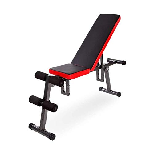 JINDEN Weight Bench Incline Decline Flat Adjustable Utility Benches, 800 LBS Weight Capacity for Home Gym